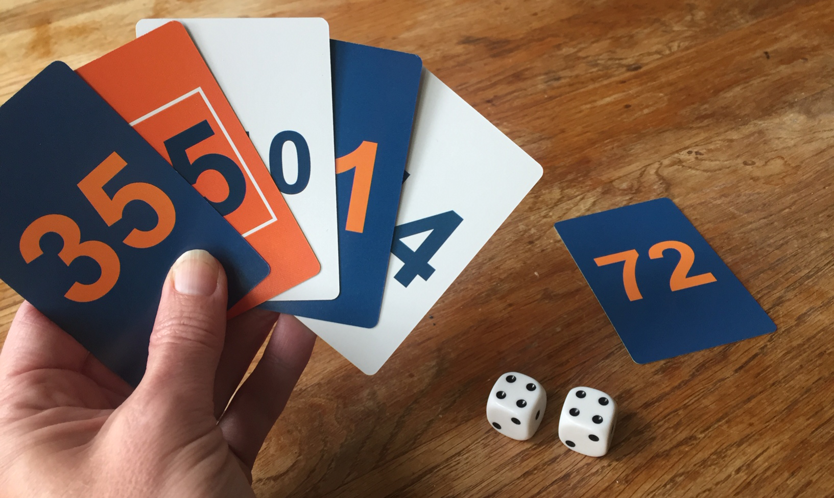 Tables-Tastic cards and dice