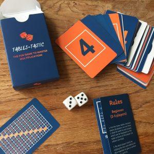 Tables-Tastic game set